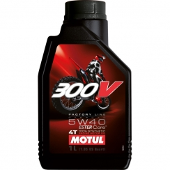 Motul 300V Factory Line Off Road 5w40
